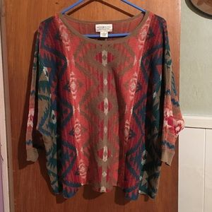 EUC Ralph Lauren oversized sweater sz M